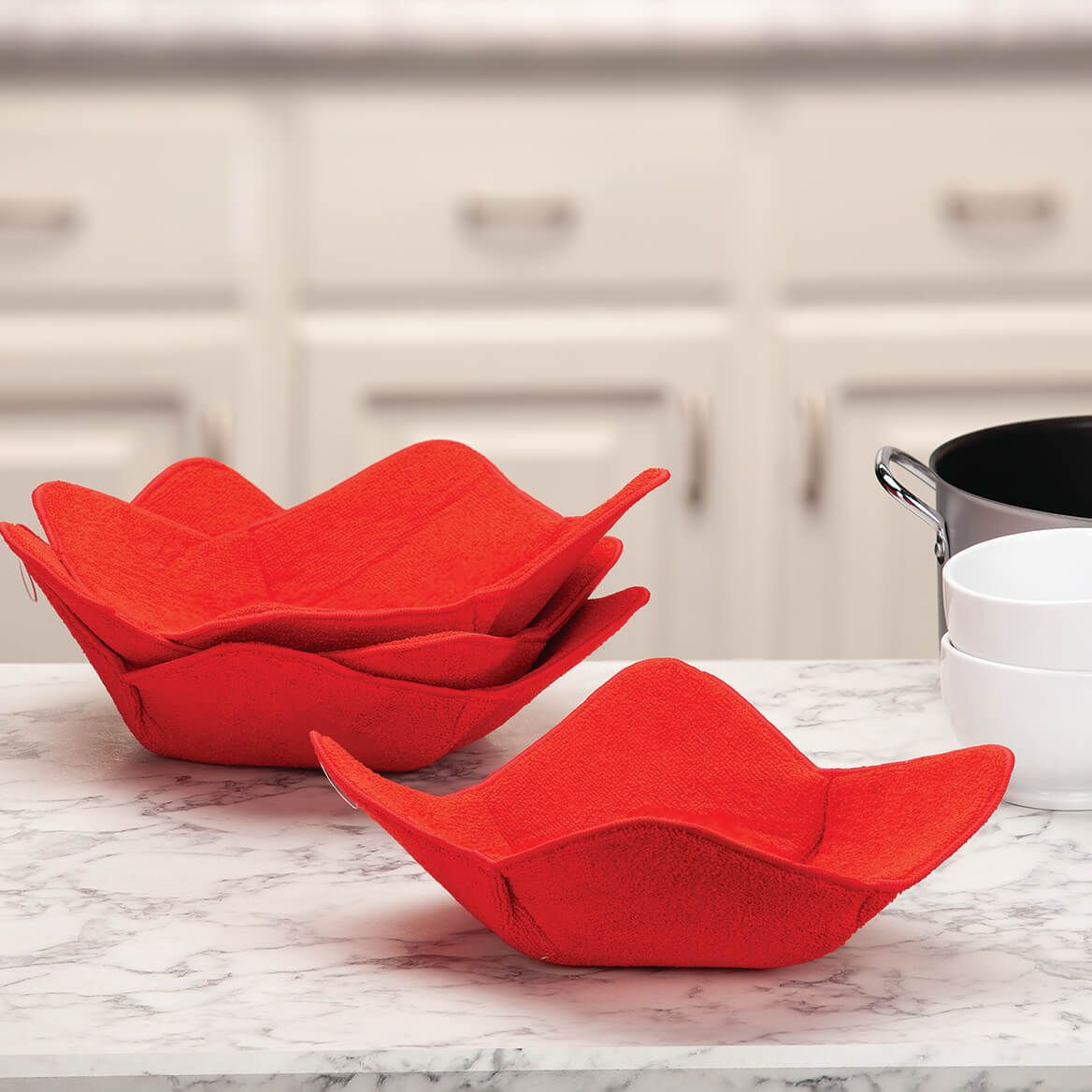 Plate Huggers, Set of 4 by Chef's Pride-372364