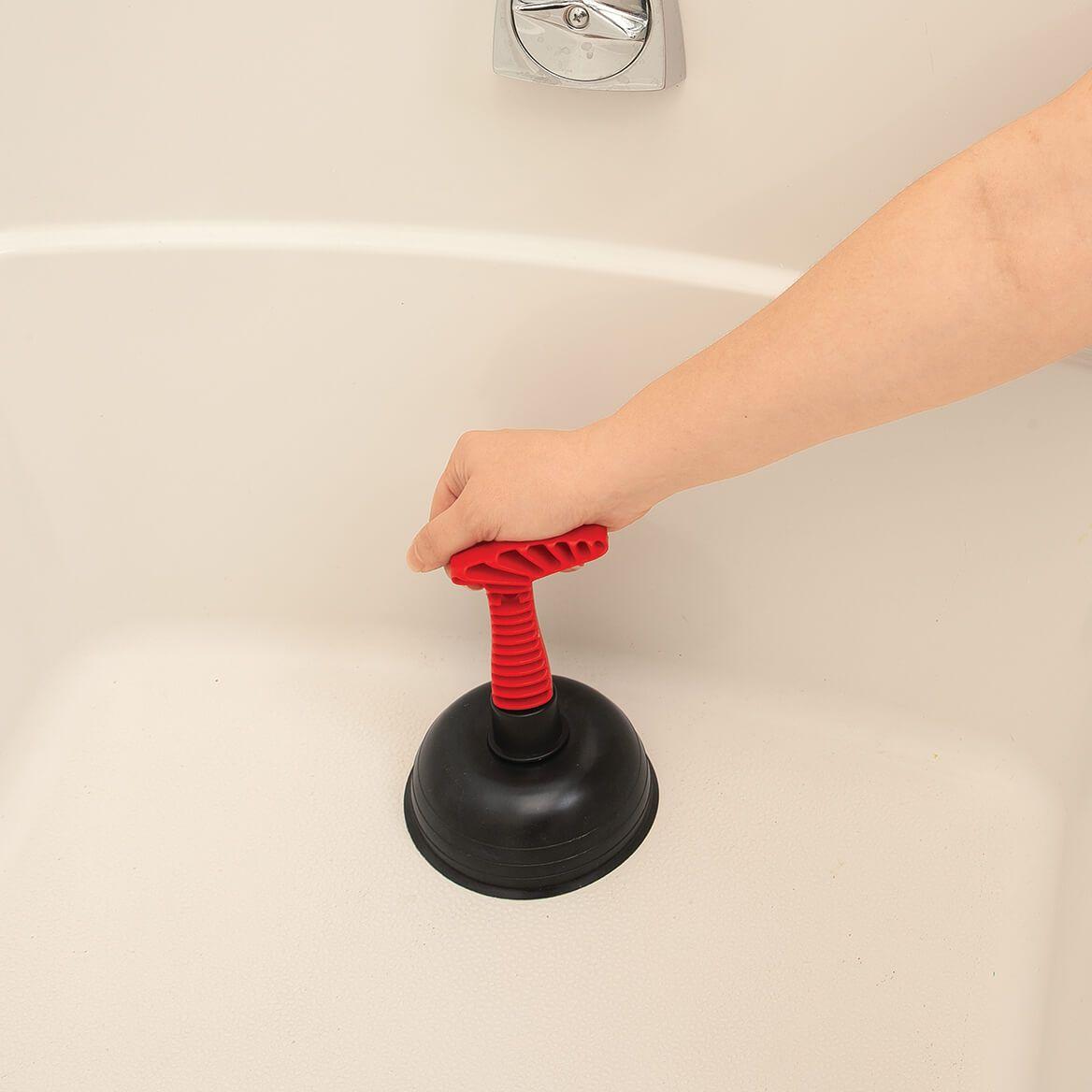 Handheld Sink Drain Plunger, Assorted-372424