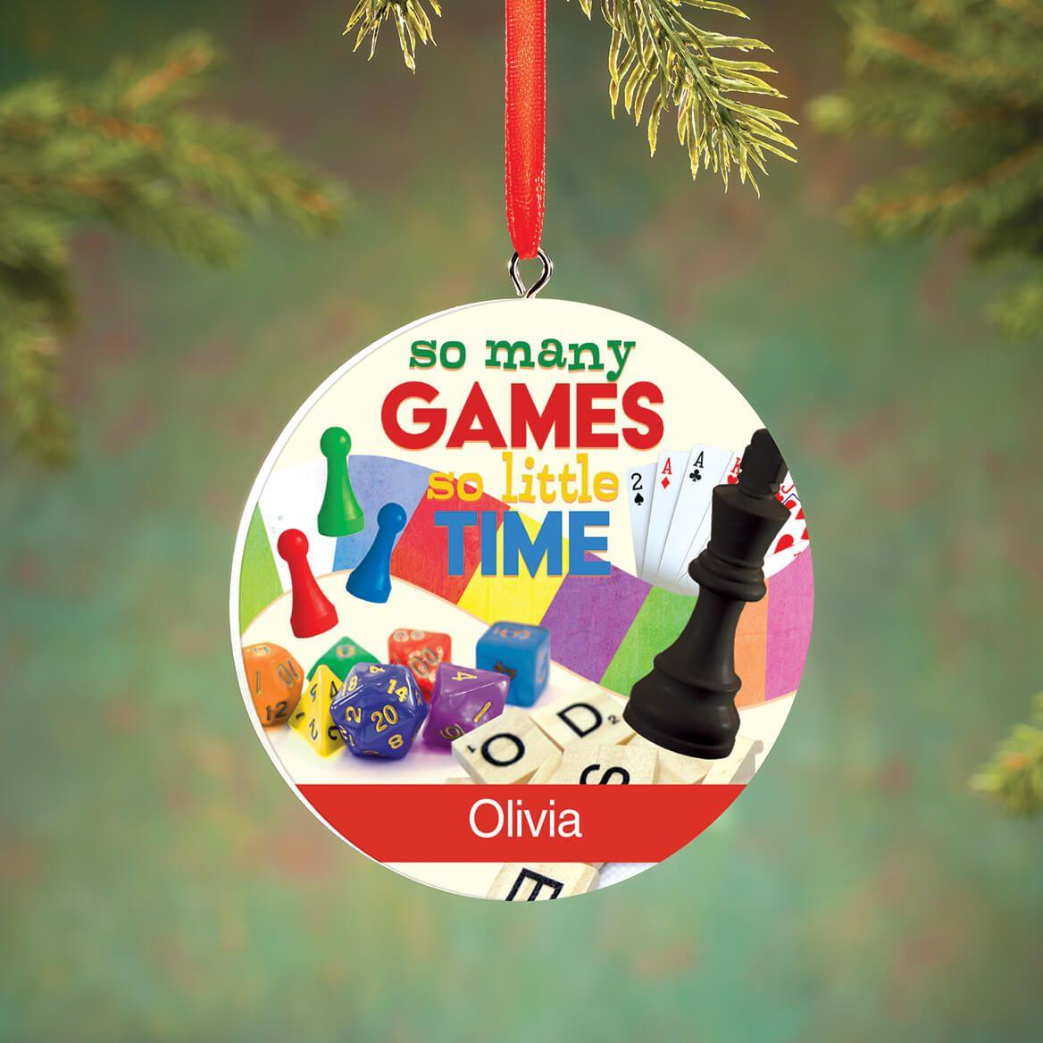 Personalized Board Game Ornament-372808