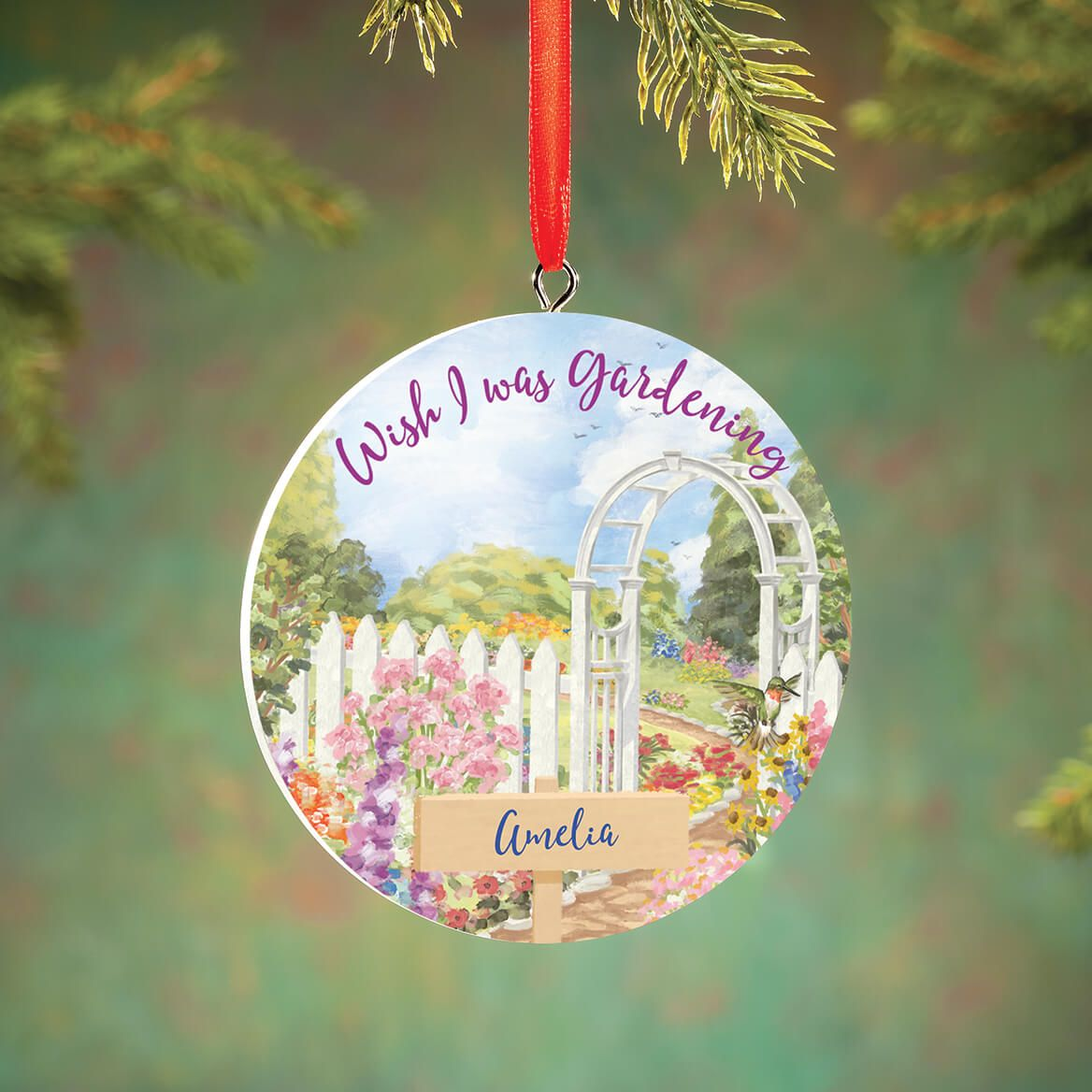 Personalized Gardening Ornament-372812