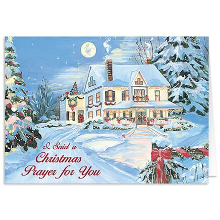 Pers I Said A Christmas Prayer Christmas Card Set of 20-300196