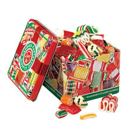 Hammonds® Old Time Christmas Tin 16 oz.-304993