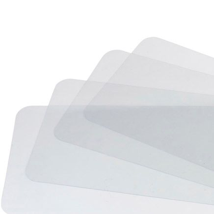Clear Plastic Placemats, Set of 4-311564