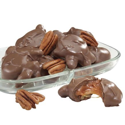 Milk Chocolate Pecan Caramel Patties 14 oz.-315102