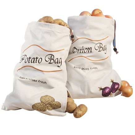 Sprout-Free Vegetable Bags Set of 2-315647