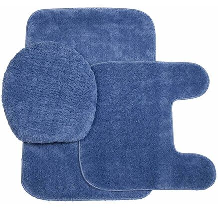 Plush Bath Rug Set-321153
