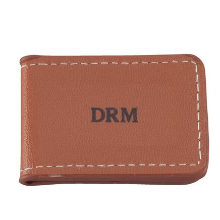 Pers Wide Leather Money Clip-327399