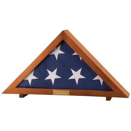 Veteran's Flag Display Case-332797