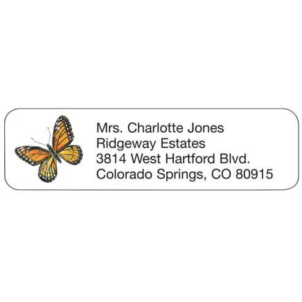 Butterfly Personalized Address Labels-333169