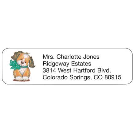 Puppy Personalized Address Labels-333171