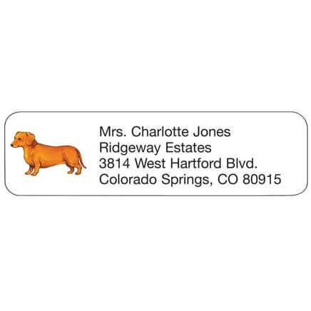 Dachshund Personalized Address Labels-333173