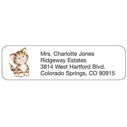 Kitten Personalized Address Labels-333174