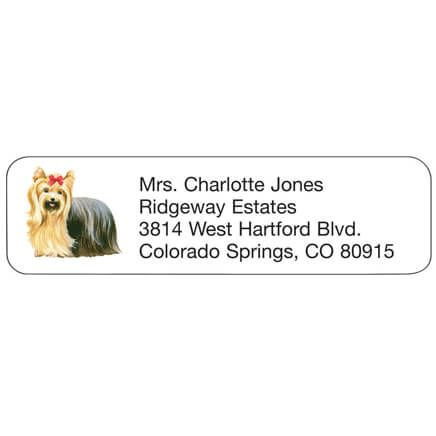 Personal Design Labels Yorkshire Terrier-333176