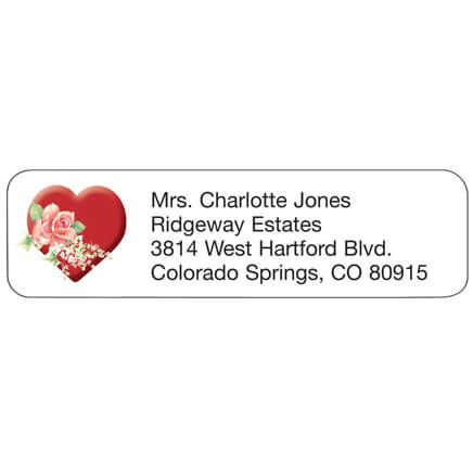 Heart Personalized Address Labels-333177