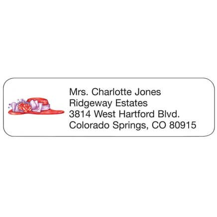 Red Hat Personalized Address Labels-333181
