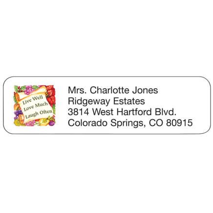 Live Laugh Love Personalized Address Labels-333182