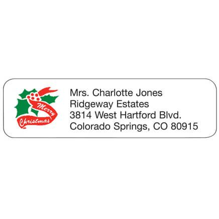Christmas Personalized Address Labels-333184