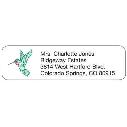 Hummingbird Personalized Address Labels-333185