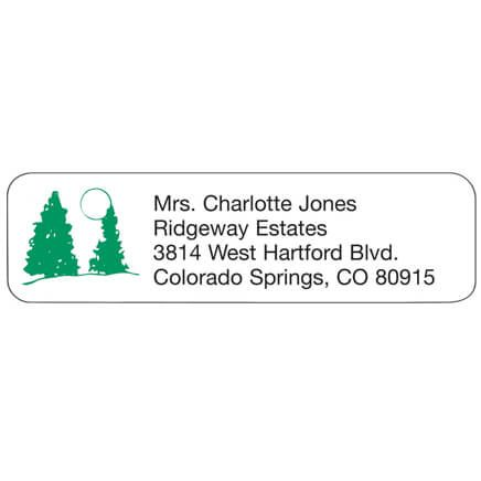 Pine Tree Personalized Address Labels-333188