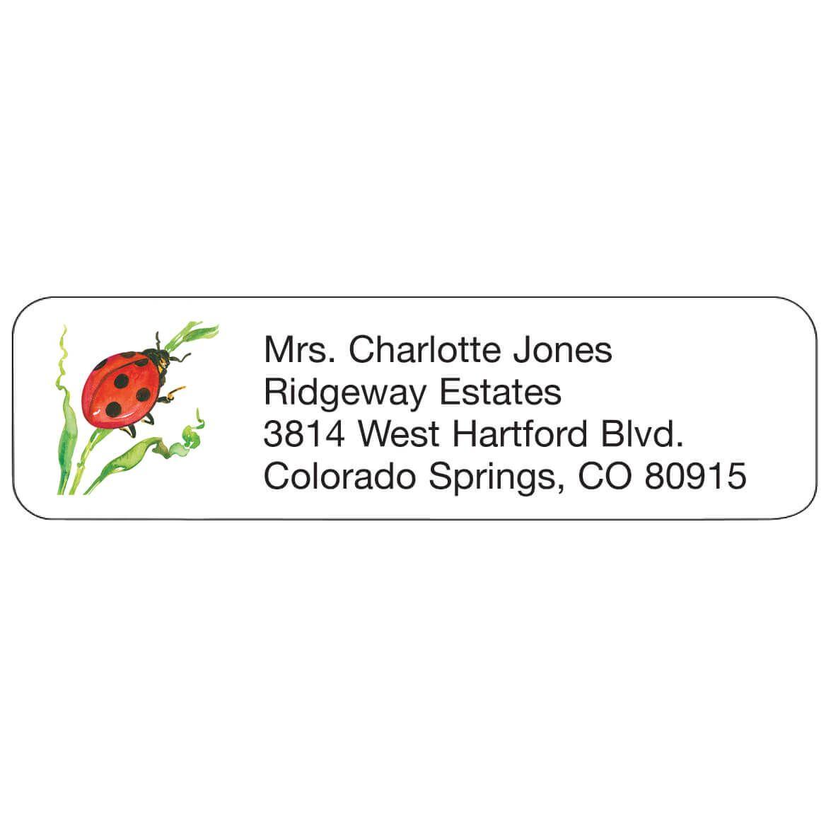 Ladybug Personalized Address Labels-333192