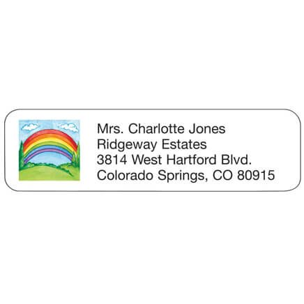 Rainbow Personalized Address Labels-333193