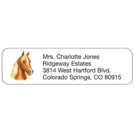 Horse Personalized Address Labels-333195
