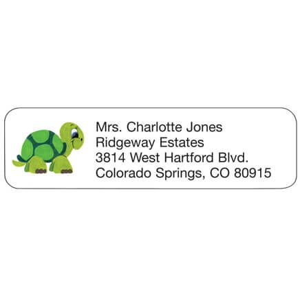 Turtle Personalized Address Labels-333197