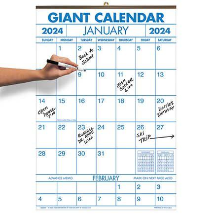 2 Year Giant Calendar-333869