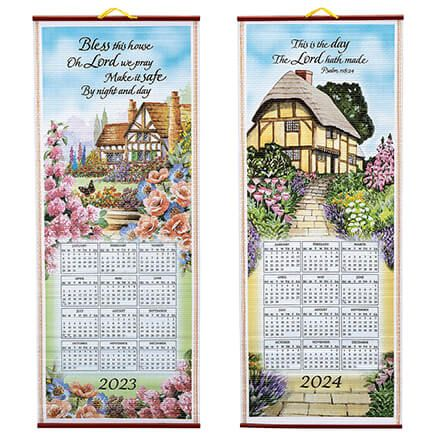 Bless This House Scroll Calendar-334604