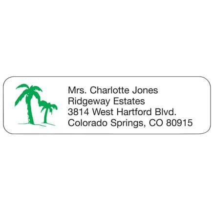 Palm Tree Personalized Address Labels-335446