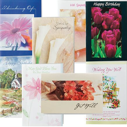 Christian All Occasion Cards Value Pack of 24-337183