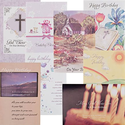 Christian Birthday Cards Value Pack of 24-337185