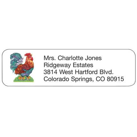 Rooster Personalized Address Labels-339057