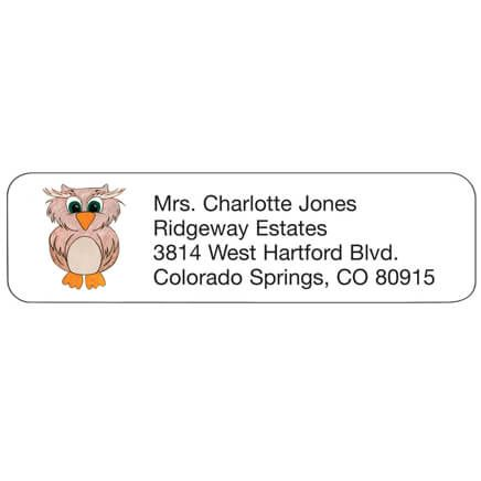 Owl Personalized Address Labels-339059