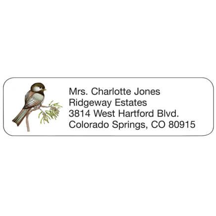 Chickadee Personalized Address Labels-341417
