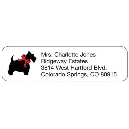 Scottish Terrier Personalized Address Labels-341420