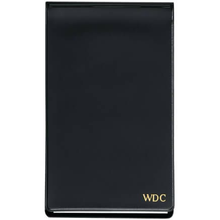 Black Personalized Jotter Pad-341966