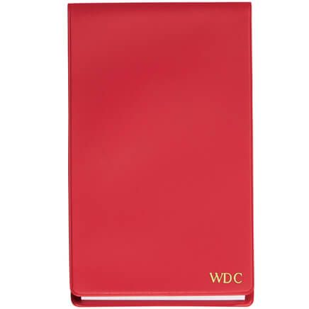 Red Personalized Jotter Pad-341968