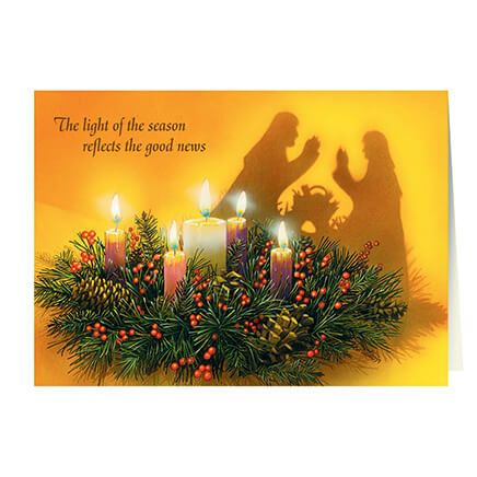 Personalized Reflections of Christmas Card Set of 20-342293