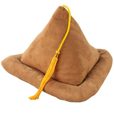 Tan Suede Book Pillow-344587