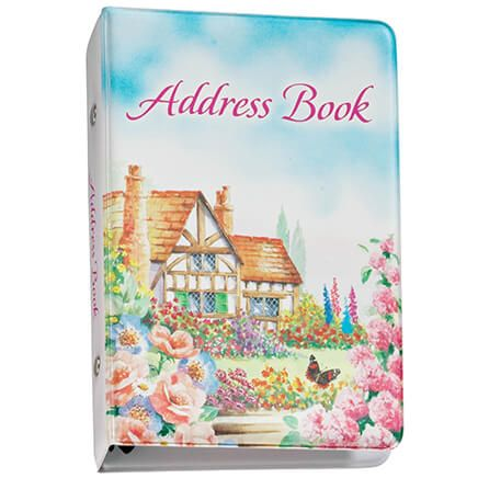 Cottage Home Address Book-344596