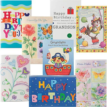 Children's Birthday Cards Value Pack of 24-344890