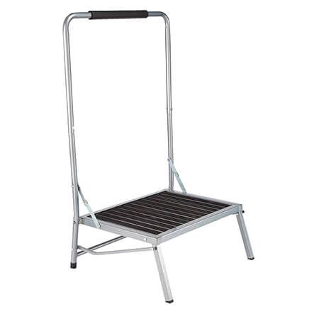 Extra Wide Folding Step Stool with Handle-344953