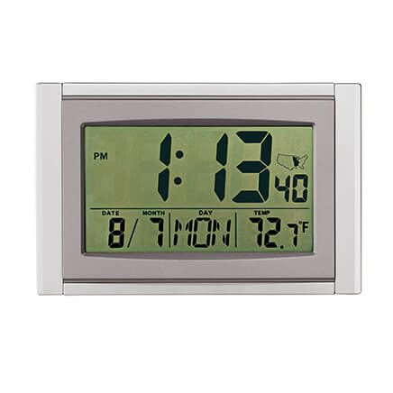 Large LCD Atomic Clock-346925