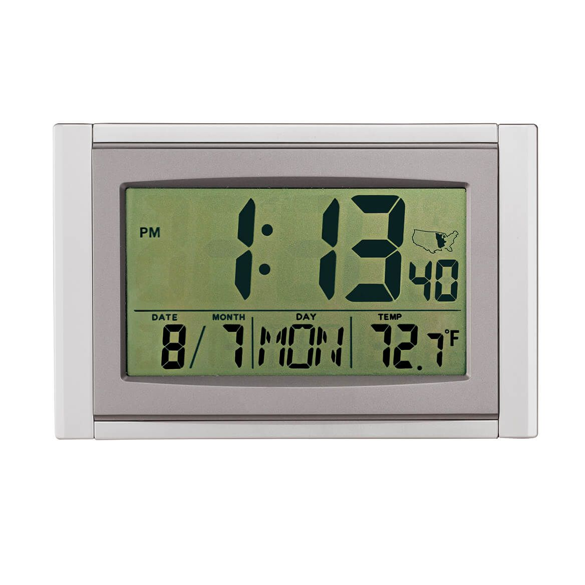 5 in 1 Large LCD Atomic Clock-346925