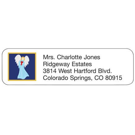 Angel With Heart Address Labels-347437