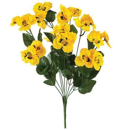 All-Weather Yellow Pansy Bush by OakRidge™-348131