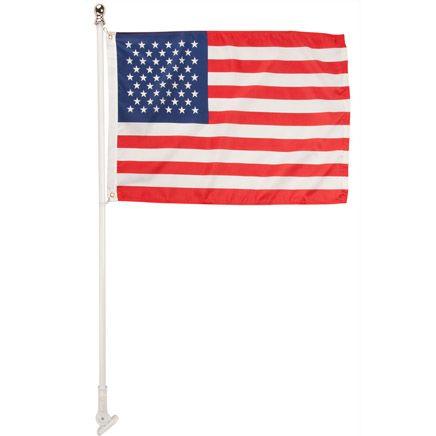 Tangle-Free Flag Pole-348288