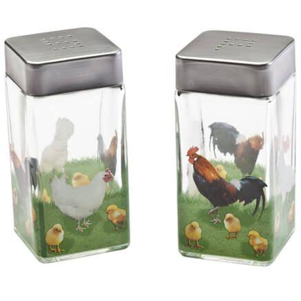 Rooster Salt & Pepper Shakers-348800