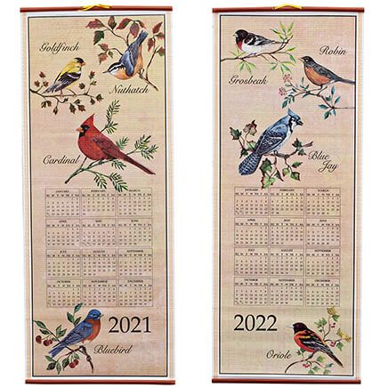 Songbirds Scroll Calendar-348923